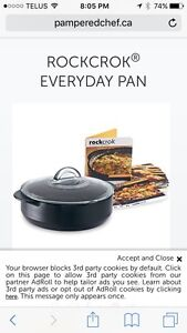 Pampered Chef RockCrok brand new