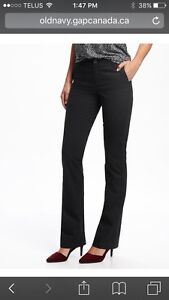 NEW with tags & in package: Old Navy ladies black pants