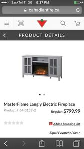 Electric fireplace Estevan