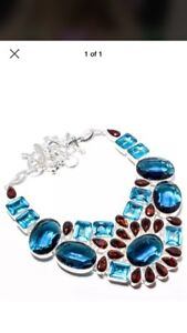 925 sterling silver necklaces with gemstones