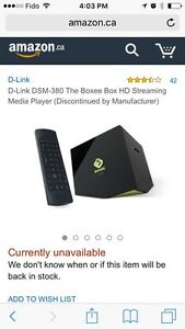 Moving sale- Boxee Box HD streaming media player