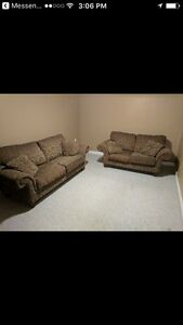 Sklar Peppler matching couch and loveseat