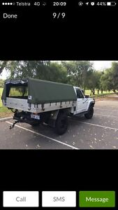 Gq patrol canvas canopy Westminster Stirling Area Preview