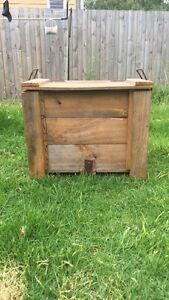 Rustic Wooden storage box Preston Darebin Area Preview