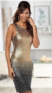 Women's Ombre Sequin Dress SIZE 6