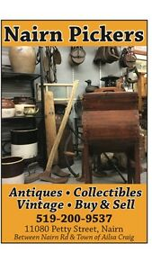 Antiques & collectables store buy and sell