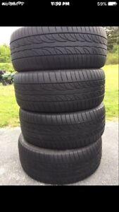 235/45/18 BRIDGESTONE TIRES
