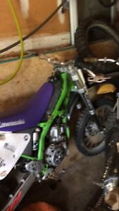 1998 kx 250 parts or project