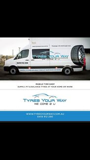 Mobile Tyre Service We Come To You  Belmont Belmont Area Preview