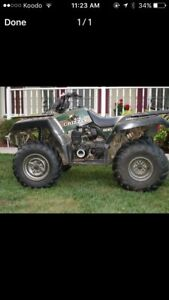 1998 grizzly 600 parts