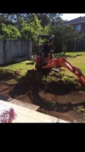 Dry hire Excavator 1.7t $150 per day Beecroft Hornsby Area Preview