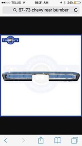 Wanted 67-72 Chevy Rear Bumper