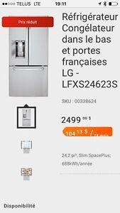 Refrigerateur- congelateur Lg