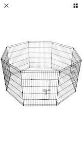 Pet Playpen Portable Exercise Cage Fence Dog Puppy Rabbit Enclosure Baldivis Rockingham Area Preview