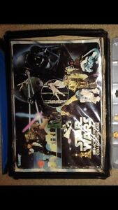 Star Wars Case and figures
