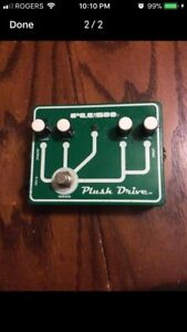 Plush effects pedals by Fuchs