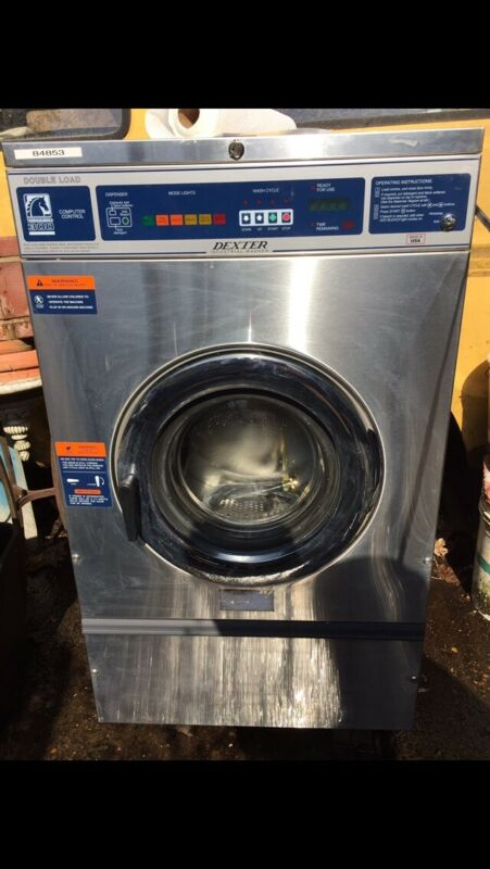Dexter T300 Washer, 20 lbs Capacity, Stainless Steel Front,  WCVD18HCS-10