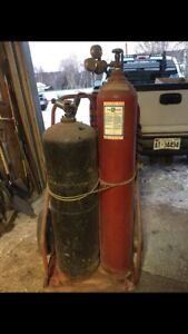 Oxy acetylene torches