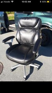 Leather Office Chair ***Free Delivery ***
