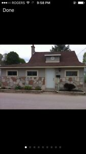 Port Stanley Cottage for weekly rentals