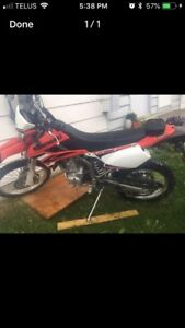 09 klx250 only 4500kms $2500 today!