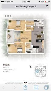 2 bedroom for rent- lease take over
