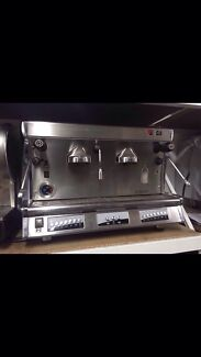 Cheap second hand three group wega Polaris Commercial Coffee Machine  Marrickville Marrickville Area Preview