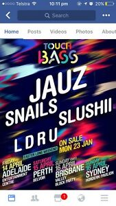 TOUCH BASS HARD COPY TICKET Petrie Pine Rivers Area Preview