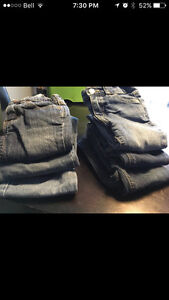 7 pairs of Girls 18-24 Jeans
