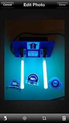 Uv Lamp Air - Air Purifier whole house UV Light in duct for HVAC AC Duct Germicidal dual lamp