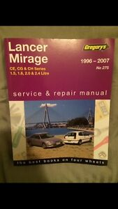 Repair Manual for Mitsubishi Lancer/Mirage (*****2007) Currumbin Gold Coast South Preview