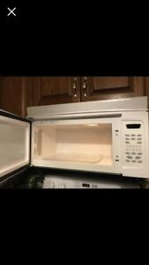 Amana over the stove microwave