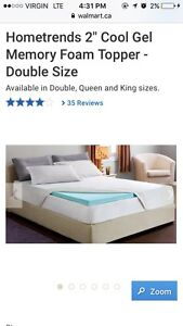 "Hometrends 2"" Double Mattress Topper"