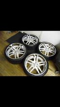 High end wheels & tyres Hope Island Gold Coast North Preview