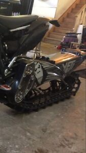 2018 Yeti 129ss with camso track c/w fit kit