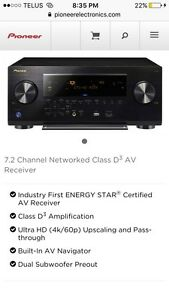 Pioneer 7.2 channel networked av receiver NEVER USED