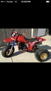 Wanted three wheeler and older Dirtbike.