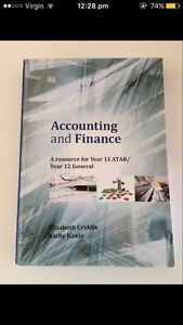 Yr 11 ATAR Accounting and Finance North Beach Stirling Area Preview
