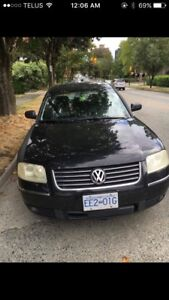 2003 Volkswagen Passat with winter tires