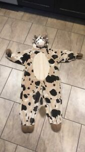 Toddler Cow Halloween Costume 3t-4t