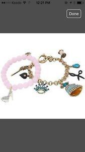 Betsy Johnson Cinderella charm bracelet