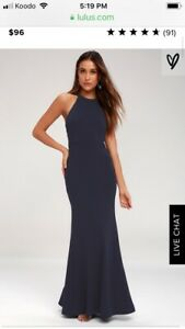 Navy Blue bridesmaid dress- Brand new with Tags