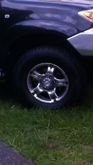 Toyota Hilux 4x4 Alloy Wheels & Tyres Gladesville Ryde Area Preview