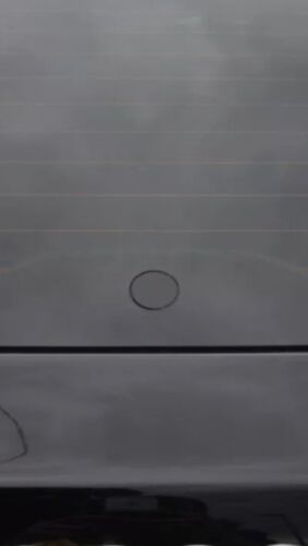 2//7 Glass Effect De Wiper Black Bung Flush Grommet BMW X5