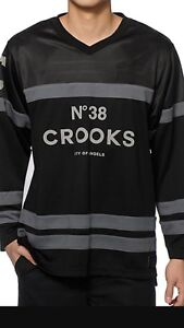 Crooks and Castles jersey Men's size M