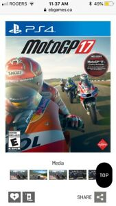 Wanted: Moto GP 17 for PS4
