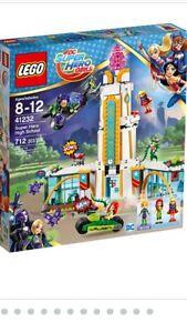 Brand new LEGO 41232 DC Super Hero Girls Super Hero High School Ryde Ryde Area Preview