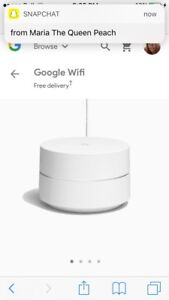 Google wifi extender and booster