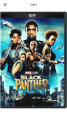 Black Panther  Dvd 2018  New Action  Adventure