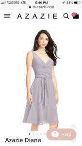 Dusk size 10 bridesmaid dress